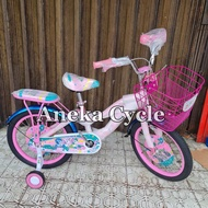 Sepeda Anak Roda Empat Cewek Perempuan Mini BNB Unicorn Little Pony 18
