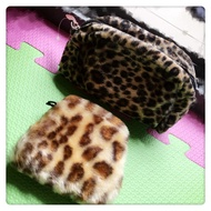 全新🌟豹紋化妝包+豹紋厚口罩