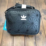 Adidas issey miyake life 3D diamond lady casual shoulder bag black