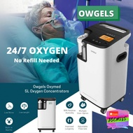 Heavy Duty OXYGEN CONCENTRATOR It operates 24/7! NO NEED TO REFILL OWGELS BRAND QW