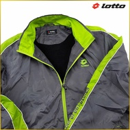 JAPAN【Lotto 】男裝 運動上下兩件式套裝組  慢跑 長袖外套 長褲套裝 戶外休閒 *LL* M3IIL