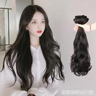假髮女長髮一片式無痕隱形長卷髮大波浪假髮片仿真髮貼片自己接髮