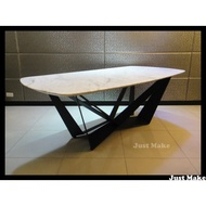 Just Make 訂製家具 辦公桌 會議桌 銀狐餐桌 石材桌 書桌 船型餐桌 桌子 工作桌 大理石餐桌 餐桌