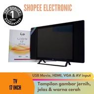 TV Murah LP TV LED 17 Inch Televisi LED LP-1710 LED TV Bisa TV + Monitor GARANSI RESMI