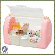 【菲藍家居】日本Marukan 鼠鼠運輸籠(附水瓶)MR-380 倉鼠籠 外出籠 提籠 刺蝟 蜜袋鼯 鼠鼠 倉鼠 黃金鼠