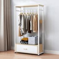 【HappyLife】落地衣帽架衣櫥A款 開放式衣櫃 YV9847(衣服收納 臥室收納 衣櫃 衣櫥)
