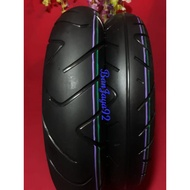 Pair Of 100/90 110/90 ring 12 tubeless Donut scoopy Tires