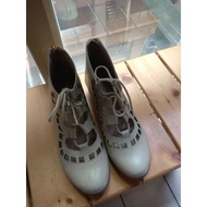 [二手] AppleNana手工鞋—洞洞楔型鞋(尺碼24.5)