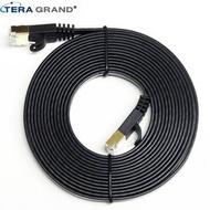 【TERA GRAND】 CAT.7 扁平 高速網路線 CAT7-WL080-12BK 黑色3.6米