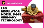 LPG REGULATOR MODEL S-968 GERMANY TECHNOLOGY,  FOR 5KG AND 11KG GAS TANKS AT TRESMARIAS1582