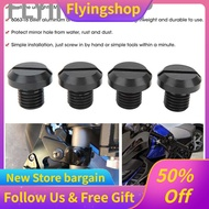 2 Pair of M10x1.25 Rearview Side Mirror Hole Plugs Screw Fits for Ducati Hypermotard