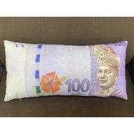 fashionSpot◐♤△[ 100% Cotton ] Malaysia Money Pillow With Zip # Bantal Ringgit Malaya + Zip
