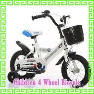 Free Shipping Children 14inch Bicycle scooter electric rechargeable bicycle tricycle 3 wheel