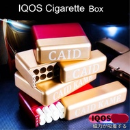 Luxury Iqos Cigarette Box Metal Heets Marlboro Storage Iqos 3 Multi 3.0 iqos 2.4 Plus Case Caid Kame shell
