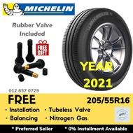 205/55R16 MICHELIN ENERGY XM2+ PLUS (INSTALLATION) NEW CAR TYRE TAYAR TIRE WHEELS RIM 16 INCH