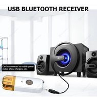Wireless Bluetooth V3.0 Receiver Stereo USB 3.5mm Audio Speaker (White)