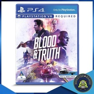 Blood & Truth Ps4 แผ่นแท้มือ1!!!!! (Ps4 games)(Ps4 game)(เกมส์ Ps.4)(แผ่นเกมส์Ps4)(Blood and Truth Ps4)(VR Game)