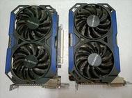 技嘉 GTX960 GV-N960OC-4GD 4G記憶體 顯示卡 GTX1050 970 750TI 可參考