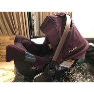 Nuna pipa 嬰兒汽座含isofit底座新生兒到13公斤