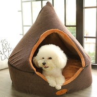 Net Kennel Winter Warm Dog House Small Dog Closed Dog House