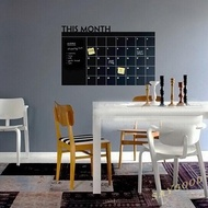 SG This Month Calendar Chalkboard Removable Planner Wall Stickers Home Decor