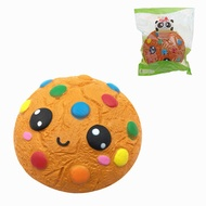 SquishyFun Cartoon Squishy Chocolate Cookie Slow Rising Toy Gift Collection With Packing Bag