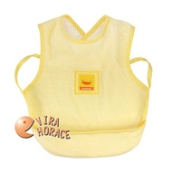 黃色小鴨反口餵食圍兜 口袋設計 盛接飲食時掉下的屑屑保持衣物清潔GT81206 HORACE