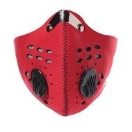 【May Shop】活性炭山地自行車口罩公路防塵面罩裝備防霧霾抑制PM2.5