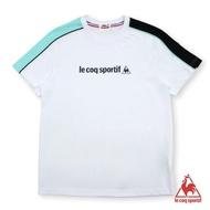 【LE COQ SPORTIF 公雞】短袖T恤 男-白-LLL2110690