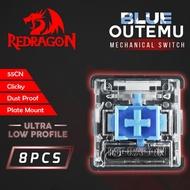 Redragon ROMS-DPULP-BL Outemu Blue Switch Dustproof Ultra Low Profile
