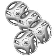"""輪胎蓋 輪圈蓋 鐵圈蓋 通用 15"""" 15吋 ABS 塑膠 銀色"""