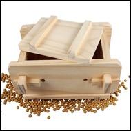 實木製豆腐模 DIY手工豆腐模具 可拆卸木盒〈送豆腐布〉~咕咕烘培~