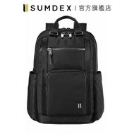 Sumdex|經典雙用商務後背包 HDN-262JB 黑色 官方旗艦店