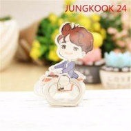 BTS Bangtan Boys JUNGKOOK Case 360 Degree Rotation Phone Ring Finger Buckle Stand Holder Cell Mobile Phone Stand Accessories Rings ZHK