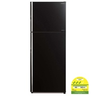 HITACHI R-VG480P8MS New Stylish 2 door Glass Inverter Fridge 407L *FREE STS KETTLE 1.7L HEK-E60 WORTH $109*