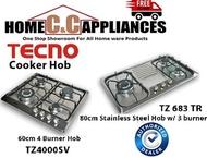 TECNO Cooker Hob / Gas Table / Stove / TZ4000SV / TZ 683 TR | Free delivery