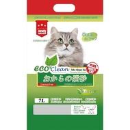 【ECO艾可】豆腐貓砂-綠茶7L (2包)