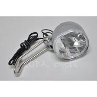 .ODA. 全新芬蘭品牌 HERRMANS H-Diver LED 發電花鼓 頭燈 磨電燈 前燈 大燈