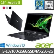 【Acer 宏碁】福利品 A515-54G 15.6吋獨顯輕薄筆電(i5-10210U/4G/256G SSD/MX250-2G/Win10)