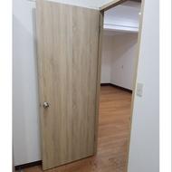 黃梧桐門。房間門。含安裝。不含木斗或木框