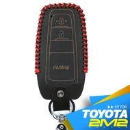 【2M2】2019 全新第五代 TOYOTA RAV4 HYBRID 汽油版豐田汽車晶片 鑰匙 皮套 智慧型專屬RA字樣
