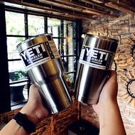 yeti保溫杯不銹鋼真空女便攜簡約隨手杯創意飲料咖啡杯冰霸杯