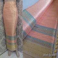s414 (แพคส่งภายใน1วัน) ผ้าไทย ผ้าไหมล้านนา ผ้าไหม ผ้าไหมทอลาย ผ้าถุง ของรับไหว้ ***ผ้าเป็นผ้าผืนยังไม่ตัดเย็บนะคะ** ขนาดผ้า 100*180 cm