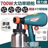 噴漆槍-普力捷乳膠漆噴塗機油漆塗料噴漆機電動噴漆槍噴漆工具電動噴槍