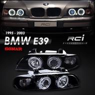 BMW E39 1995-2003 5-series 高亮度 CCFL 光圈 魚眼大燈 (限定宅配)