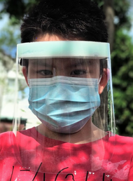 FREE Shipping Fast Delivery - 5 Pcs Face Shield Protector Face Shield Mask Face Shield Medical Full Face Protection (Made in Taiwan)