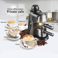 เครื่องชงกาแฟ หม้อกาแฟมอคค่า เครื่องชงกาแฟเครื่องชงกาแฟเอสเพรสโซการทำโฟมนมแฟนซีการปรับความเข้มของกาแฟด้วยตนเองเครื่องทำกาแฟขนาดเล็กเครื่องทำกาแฟกึ่งอัตโนม โนมัติไอน้ำฟองนม