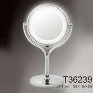 HM-467 LED雙面化妝美容鏡 3倍放大 T36239 桌鏡 化妝鏡【A003656】《BEAULY倍莉》
