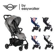 (優惠倒數中)Easywalker-MINI BUGGY XS手推車(贈原廠雨罩/前扶手/收納袋/蚊帳/肩背帶)