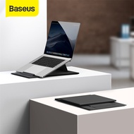 Baseus Folding Laptop Stand Black Computer Holder Ultra High Laptop Holder For 2020 MacBook Air Pro Notebook Laptop Stand Portable